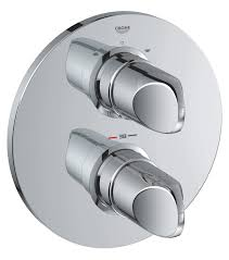 grohe spa veris thermostatic bath shower mixer valve