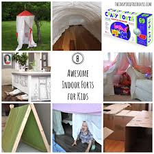 activities for kids 8 awesome indoor fort ideas the inspired