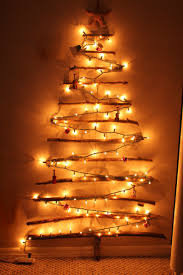 inspiring tree branches for wall decoration design as christmas