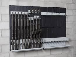 between the studs gun cabinet wall gun safe completeall rack kit and on for long guns in gun