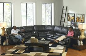 Black Leather Sofa Recliner Recliners Chairs U0026 Sofa Reclining Sectional Sofas Leather With