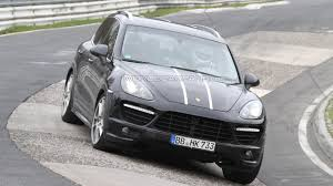 2012 Porsche Cayenne - 2012 porsche cayenne turbo s spied for first time