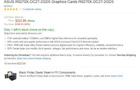 black friday deals for graphics cards amazon is getting bad at fake prices sales h ard forum