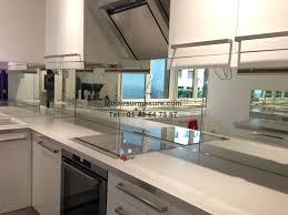 credence cuisine sur mesure crédence miroir sur mesure pour votre cuisine miroirsurmesure com