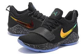 Nike Zoom nike zoom pg 1 black gold blue basketball shoes www kyrie3shop