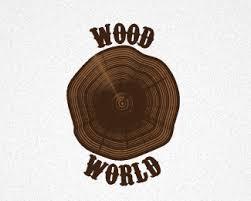 wood world logopond logo brand identity inspiration wood world