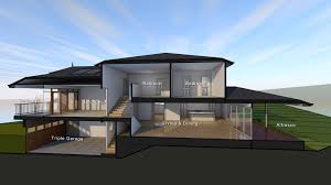 Split Level House Plan with Gorgeous Sloping Block House Designs Geelong Split Level Design In