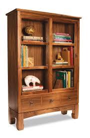 Bookcase Plans With Doors Sliding Door Bookcase Popular Woodworking Magazine