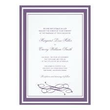 wedding invitation frame eggplant wedding invitations frame border zazzle