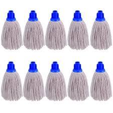 Floor Mop by Heavy Duty Replacement Cotton Floor Mop Head Socket Type