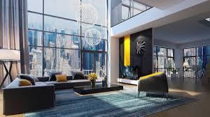 Grey Tile Living Room by Living Room White Sofa Brown Cushions Gray Tile Flooring