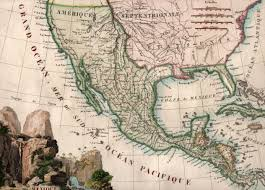 Mexico 1821 Map by Mexico Geography Yana U0026 Marty Davis Map Collection
