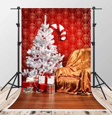 2017 white christmas tree photo backgrounds wood floor backdrop