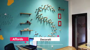 how to decor home ideas creative ways to decorate your bedroom walls youtube