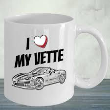mug design for him chevy corvette coffee mug a great gift for him vintage corvette mug