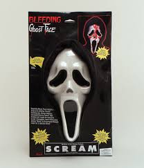 bleeding scream mask halloween masks fancy dress costume shop