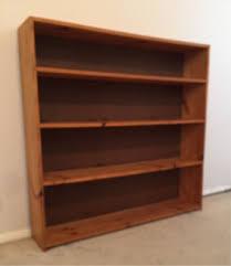 pine bookcase in melbourne region vic gumtree australia free
