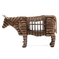 aliexpress com buy 3d puzzle animal cardboard oyuncak bull model