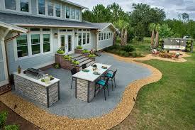 Ideas For Backyard Patios Home Design Backyard Patio Ideas With Tub Pantry The