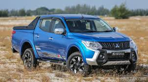 mitsubishi nissan to share pick up platform exec