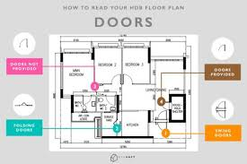 How To Read A Floor Plan Symbols Guide To Reading Hdb Floor Plan