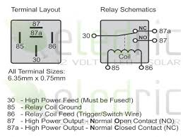 12v relay coil wiring diagram 12v wiring diagrams collection