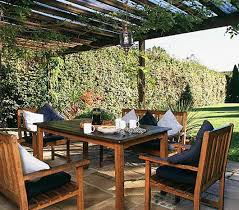 outdoor dining rooms outdoor dining room in garden area with square table and wooden