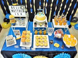 Minions Candy Buffet by Little Wish Parties Childrens Party Blog