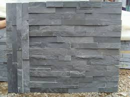Stacked Stone Around Fireplace by Stacked Slate Around Fireplace A Good Idea
