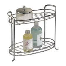 bathroom shelve amazon com interdesign axis free standing bathroom vanity storage