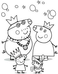 coloring pages peppa the pig peppa pig coloring page pig birthday coloring pages peppa pig