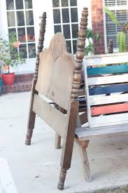 Diy Vintage Headboard by Diy Vintage Headboard Bench Southern Revivals