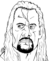 wwe coloring pages uniquecoloringpages throughout wwe coloring