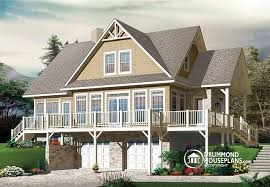 house plans with rear view house plan w3914 v2 detail from drummondhouseplans com