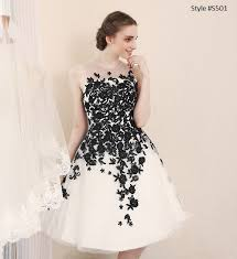 wedding reception dress black white wedding reception dresses from darius couture