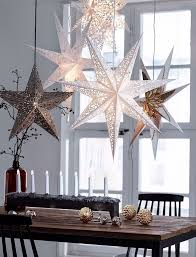 New Year Decorations With Paper by Best 25 Christmas Stars Ideas On Pinterest Paper Ornaments