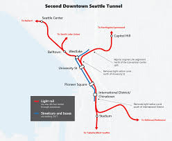 Seattle Map Downtown by Seattle Metro Tunnel Map Diagram Get Free Images About World Maps