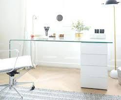 modern glass work desk white and glass desk alluring white glass office desk with modern