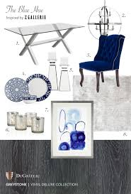 the blue hue inspired by z gallerie u0026 vinyl deluxe greystone
