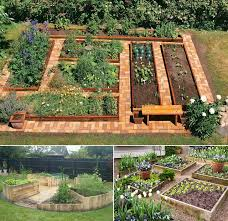 Diy Garden Bed Ideas How To Build A U Shaped Raised Garden Bed Icreatived