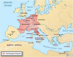 Europe 1815 Map by Map Of Europe Outlining Territory Of Carolingian Empire History