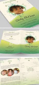 funeral program printing services 30 best funeral program templates images on memorial
