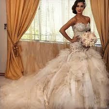 robe de mari e magnifique de luxe robes de mariée magnifique cathédrale robes de mariée
