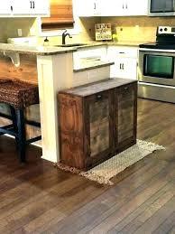 kitchen island trash bin kitchen island with trash can snaphaven com