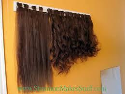 diy hair extensions diy hair extension storage genius weave diy