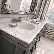 Vanity With Carrera Marble Top Bathroom Vanities With Marble Tops Bathroom Decoration