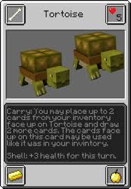 minecraft cards tortoise minecraft trading card wiki fandom powered by wikia