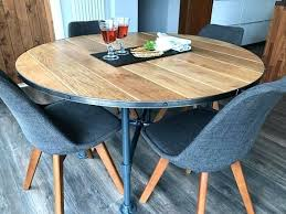 round oak kitchen table solid oak kitchen tables solid oak industrial style dining table