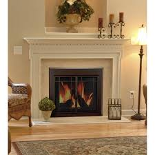 fireplace pleasant hearth fireplace doors lowes fireplace