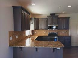 Dark Grey Kitchen Cabinets by Kitchen Room Awesome Dark Gray Stained Kitchen Cabinets